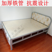 铁艺床zh的公主欧式ng超牢固抗震出租屋房宿舍现代经济型卧室