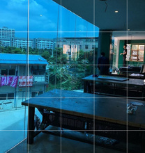隔热房zh阳台屋顶膜du光板遮阳家用防晒玻璃窗户阳光加厚贴膜