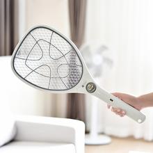 日本电zh拍可充电式ui子苍蝇蚊香电子拍正品灭蚊子器拍子蚊蝇