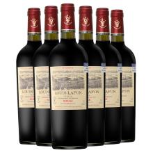 法国原zj进口红酒路hg庄园公爵干红葡萄酒14度整箱750ml*6