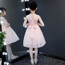 女童连zj裙新式夏季l8女宝宝雪纺韩款超洋气裙子网红公主裙夏