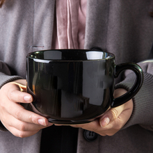 [zljc]全黑牛奶杯简约超大容量7