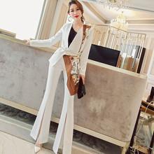 气质洋气zm1红(小)西装px女2021新式韩款时尚女神范裤子两件套
