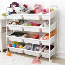 宝宝玩zs收纳架宝宝lf架幼儿园玩具收纳柜宝宝玩具收纳整理架