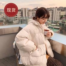法儿家zu款2020ba式韩国东大门仙女装时尚春装女短式面包棉服