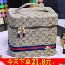 多功能zu妆包女便携du021新式超火超大容量品收纳盒高级感手提箱