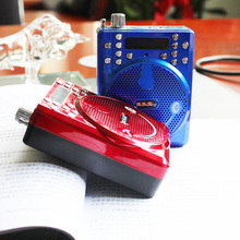 便携式zy卡收音机导pm促销扩音器迷你音响老的用收音机
