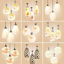餐厅吊zz三头创意个yh风吧台卧室餐厅灯简约现代过道餐吊灯具