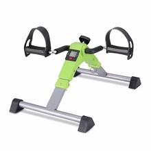 健身车zz你家用中老hj感单车手摇康复训练室内脚踏车健身器材